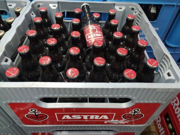 Astra Rotlicht 27x0,33 l Glas