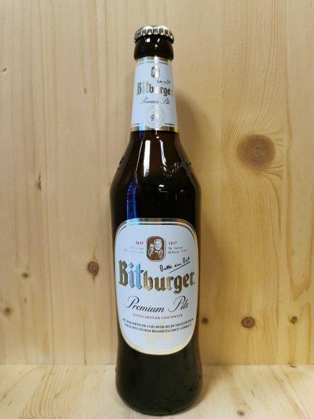 Bitburger 0,5 l Glas