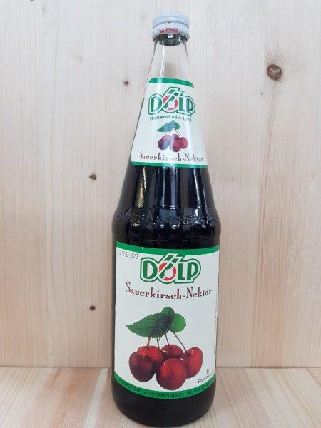 Dölp Sauerkirsch-Nektar 1,0 l Glas
