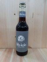 Fritz-Kola Null Zucker+Guarana 0,33 l Glas