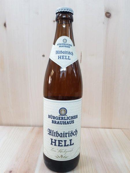 Bürgerliches Brauhaus Altbairisch Hell 0,5 l