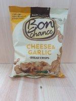 BON CHANCE Brotchips Che.&Garlic 120g BT