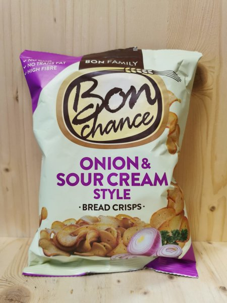BON CHANCE Brotchips Sour Cr.&O. 120g BT