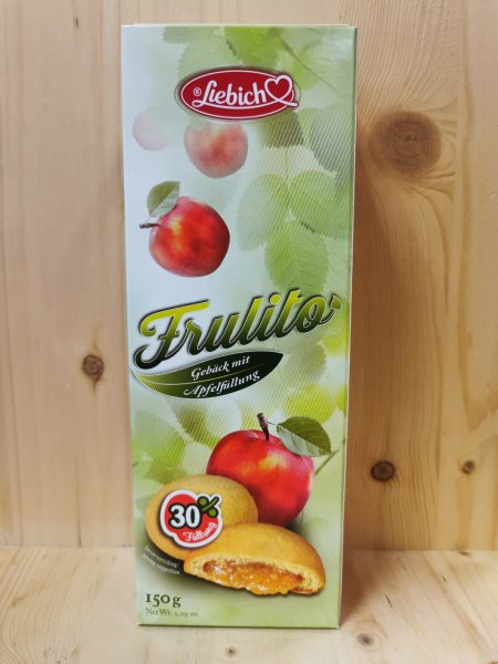 LIEBICH Frulito Kekse Apfelfüllung 150g