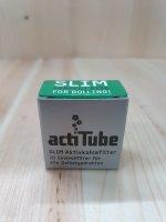 actiTube Slim Aktivkohlefilter 7mm 50 Stück