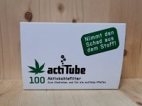 actiTube 8mm 100 Aktivkohlefilter