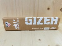 Gizeh Longpapers KS Slim Pure 34 leaves + Tips